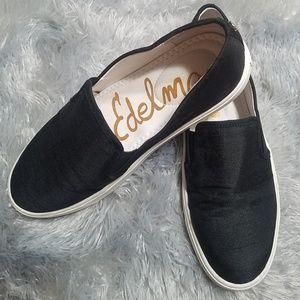 Sam Edelman | Black slip-on sneakers Size 7.5